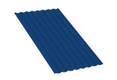 Профнастил МП20 R Полиэстер 0,35 мм RAL 5005 Сигнальный синий MP20PE35-5005