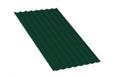 Профнастил МП20 R Полиэстер 0,35 мм RAL 6005 Зеленый мох MP20PE35-6005