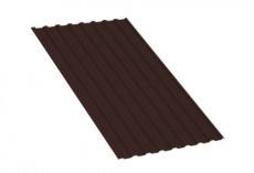 Профнастил МП20 R Полиэстер 0,35 мм RAL 8017 Шоколад MP20PE35-8017