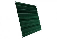 Профнастил Grand Line С10 A Полиэстер Дачный 0,35 мм RAL 6005 Зеленый мох C10aGL-ped65