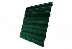 Профнастил Grand Line С10 R Полиэстер Дачный 0,35 мм RAL 6005 Зеленый мох profGL-ped65