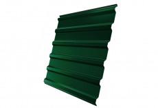 Профнастил Grand Line С20 R Полиэстер Дачный 0,35 мм RAL 6005 Зеленый мох C20GL-ped65